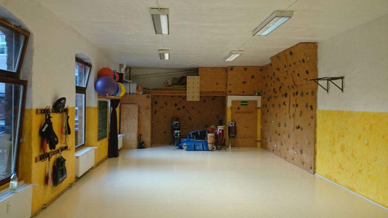 Capoeira Akademie Berlin: grosser Trainingsraum