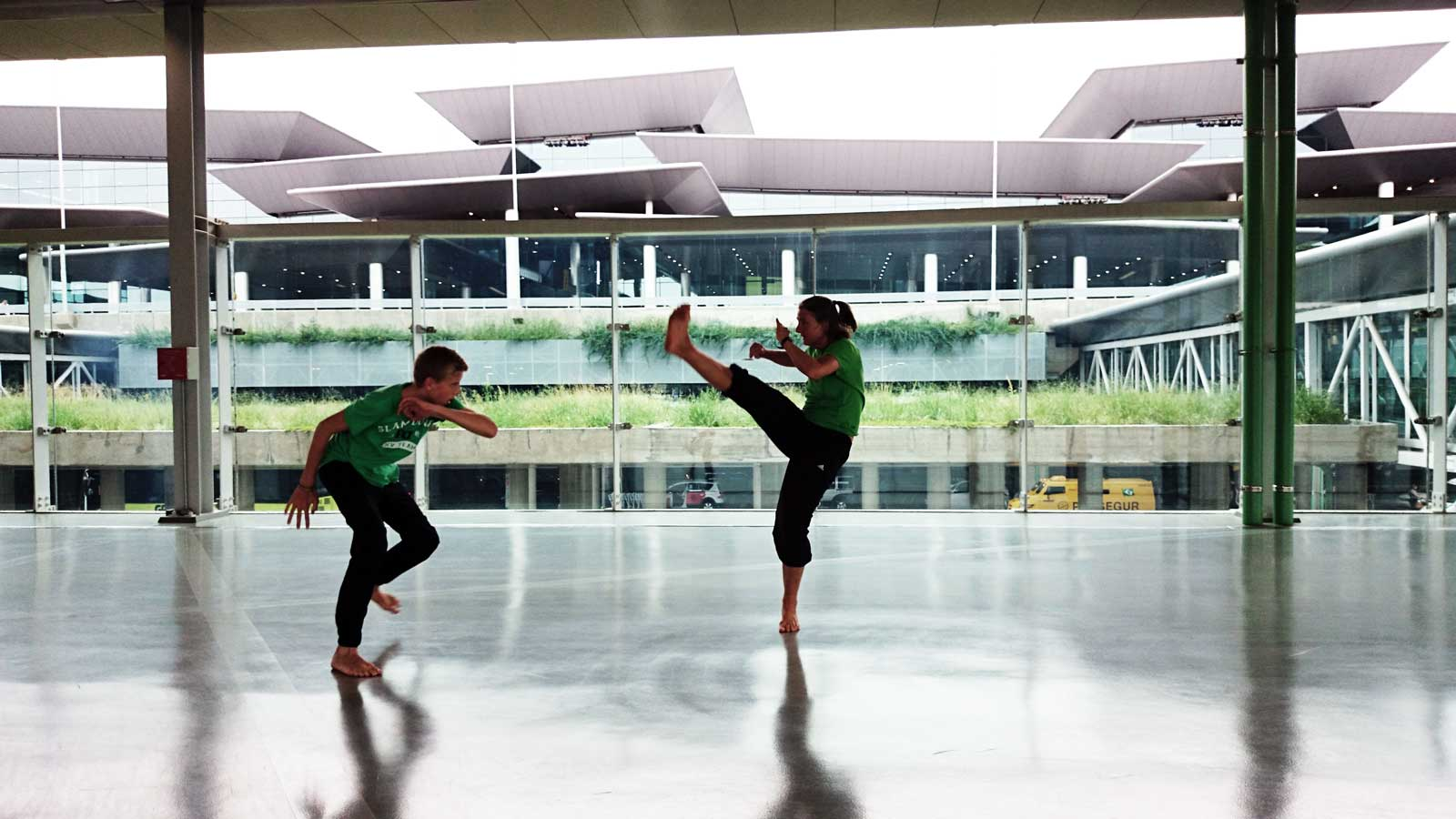 Capoeira Akademie Berlin: Airport Sao Paulo