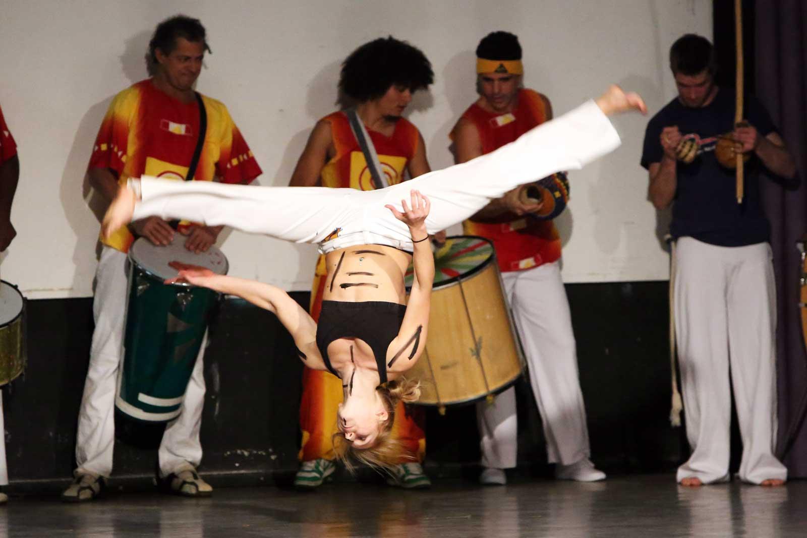 Capoeira Akademie Berlin: Akrobatik Salto