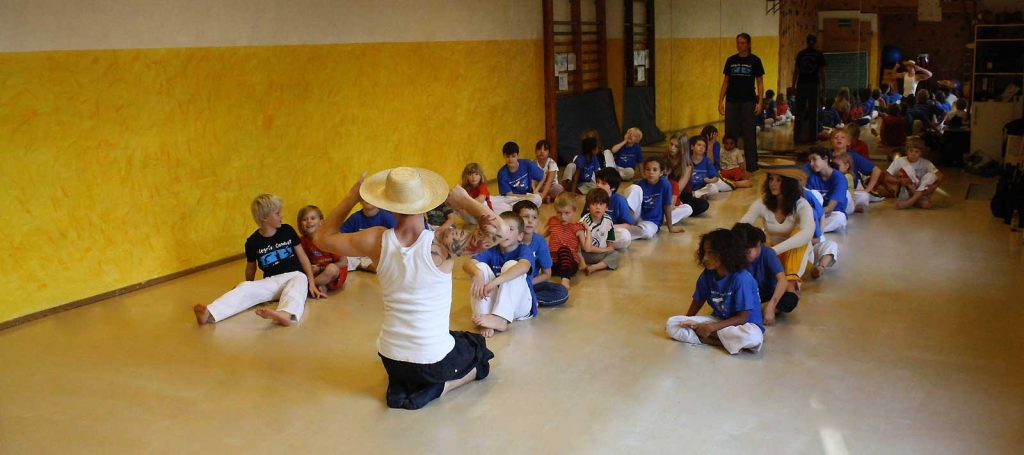 Capoeira Akademie Berlin Kids Training