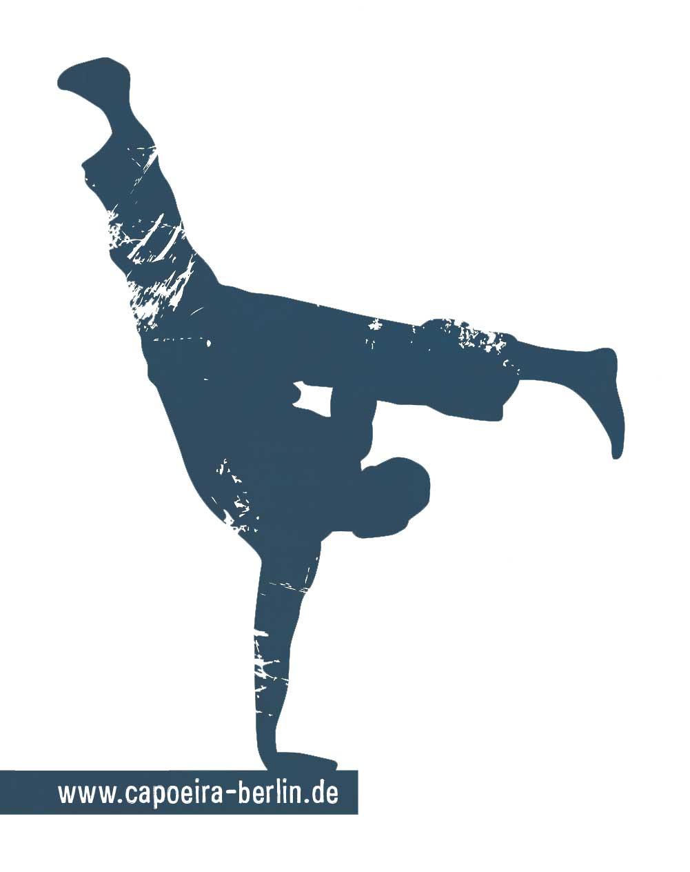 Capoeira Akademie Berlin: Solotänzer Silhouette