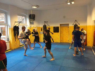 Capoeira Akademie Berlin: Thaiboxen