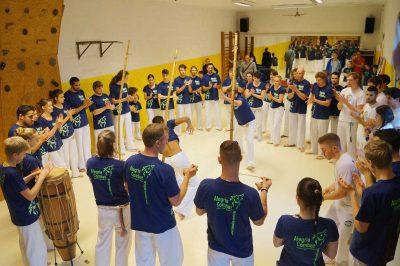 Capoeira Akademie Berlin: Trainingsraum - Roda