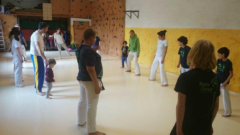 Capoeira Akademie Berlin: Eltern Kind Workshop