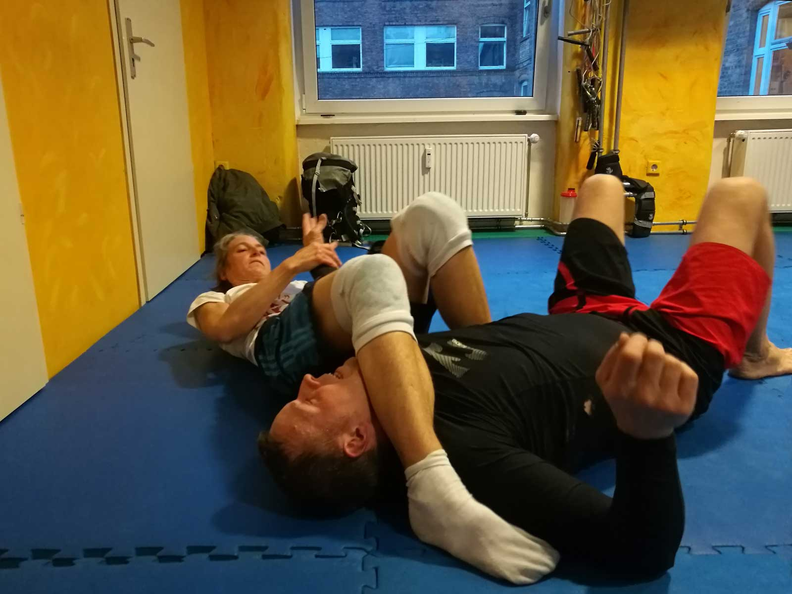 Capoeira Akademie Berlin: Grappling am Boden
