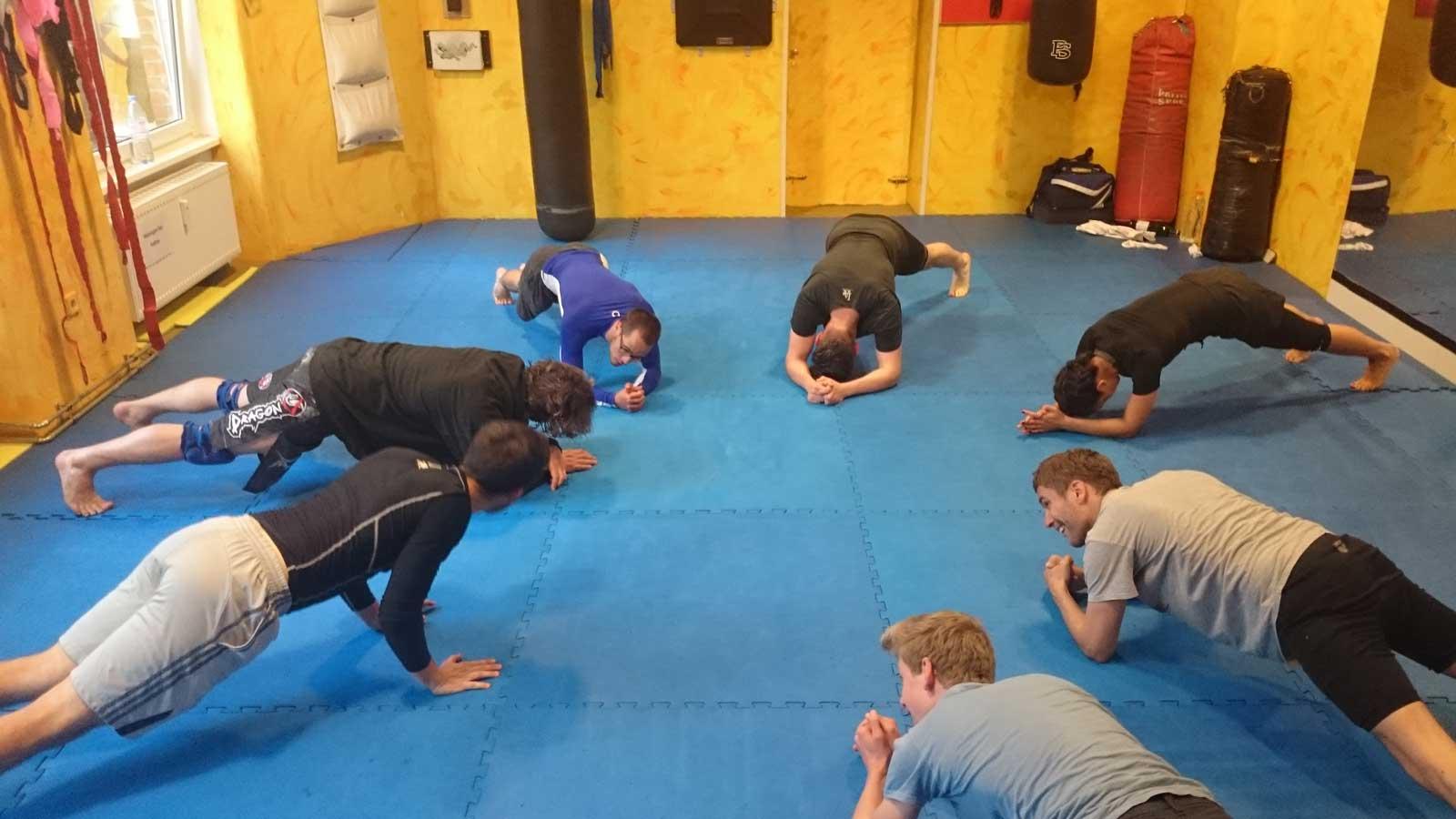 Capoeira Akademie Berlin: Grappling Kreis