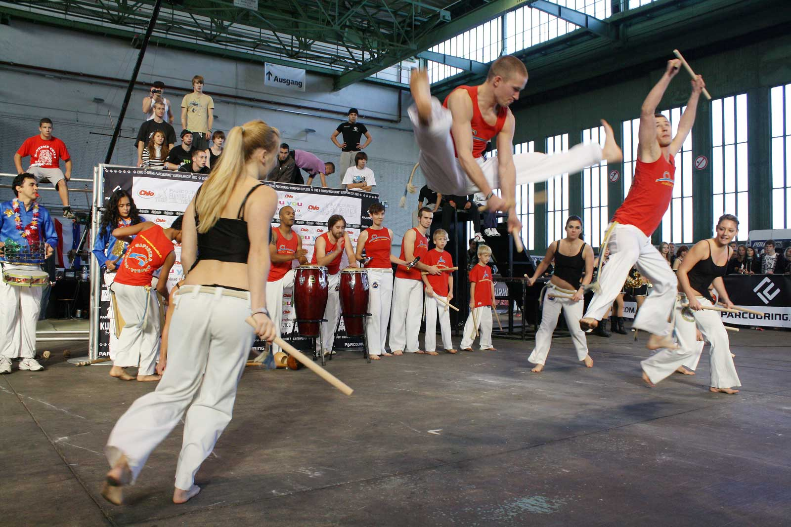 Capoeira Akademie Berlin: Musik gehört zu Capoeira