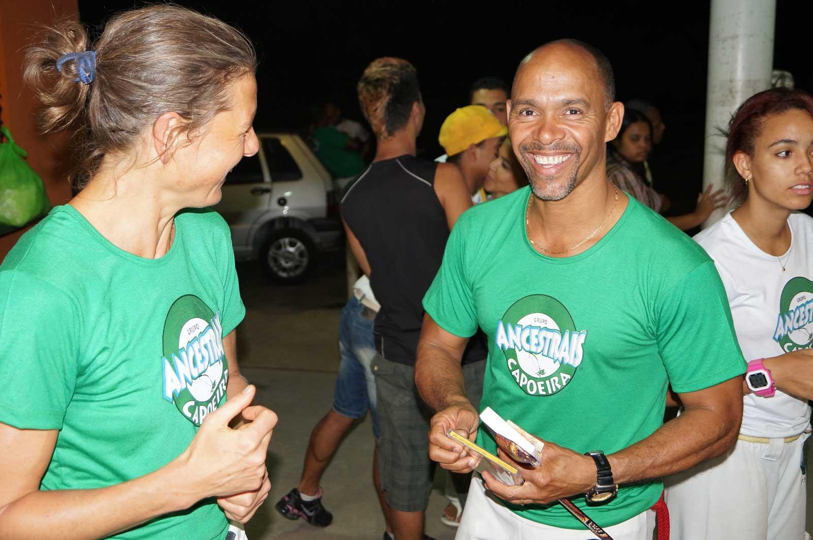 Capoeira Akademie Berlin: Brasilien Ancestrais Mestre Museu