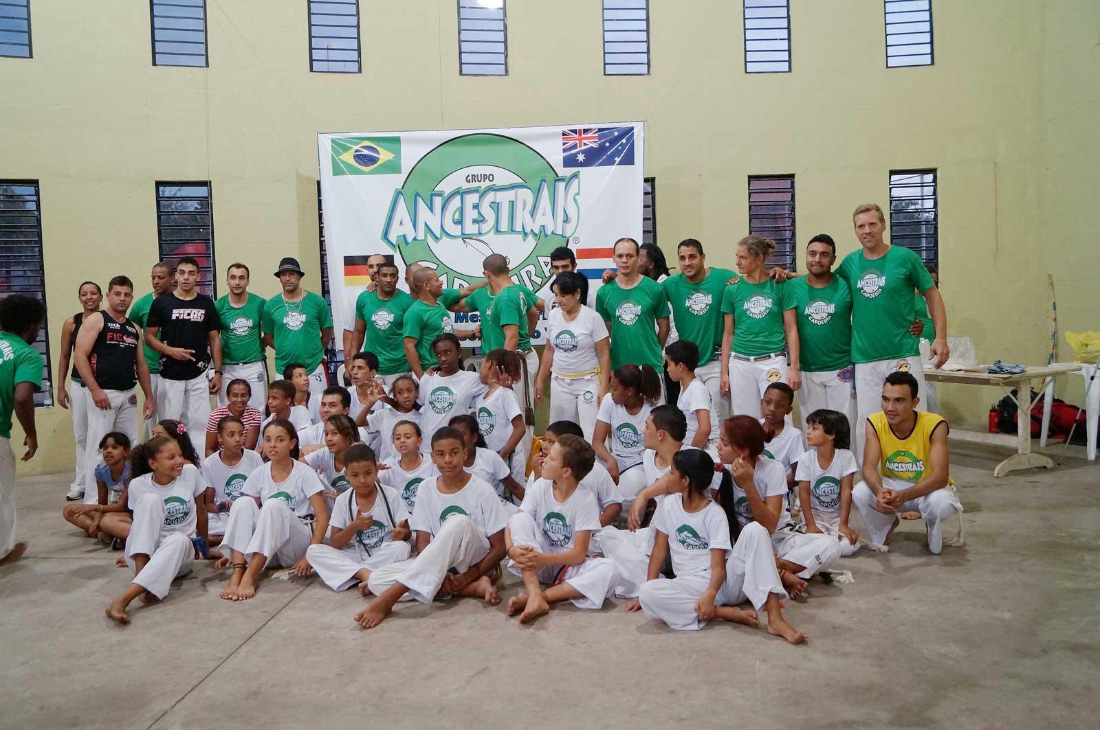 Capoeira Akademie Berlin: Brasilien Batizado in BH Team