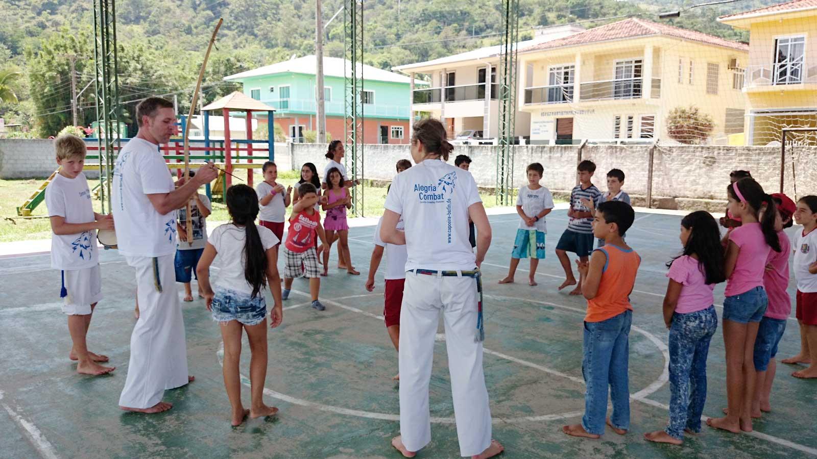 Capoeira Akademie Berlin: Brasilien Kinderworkshop