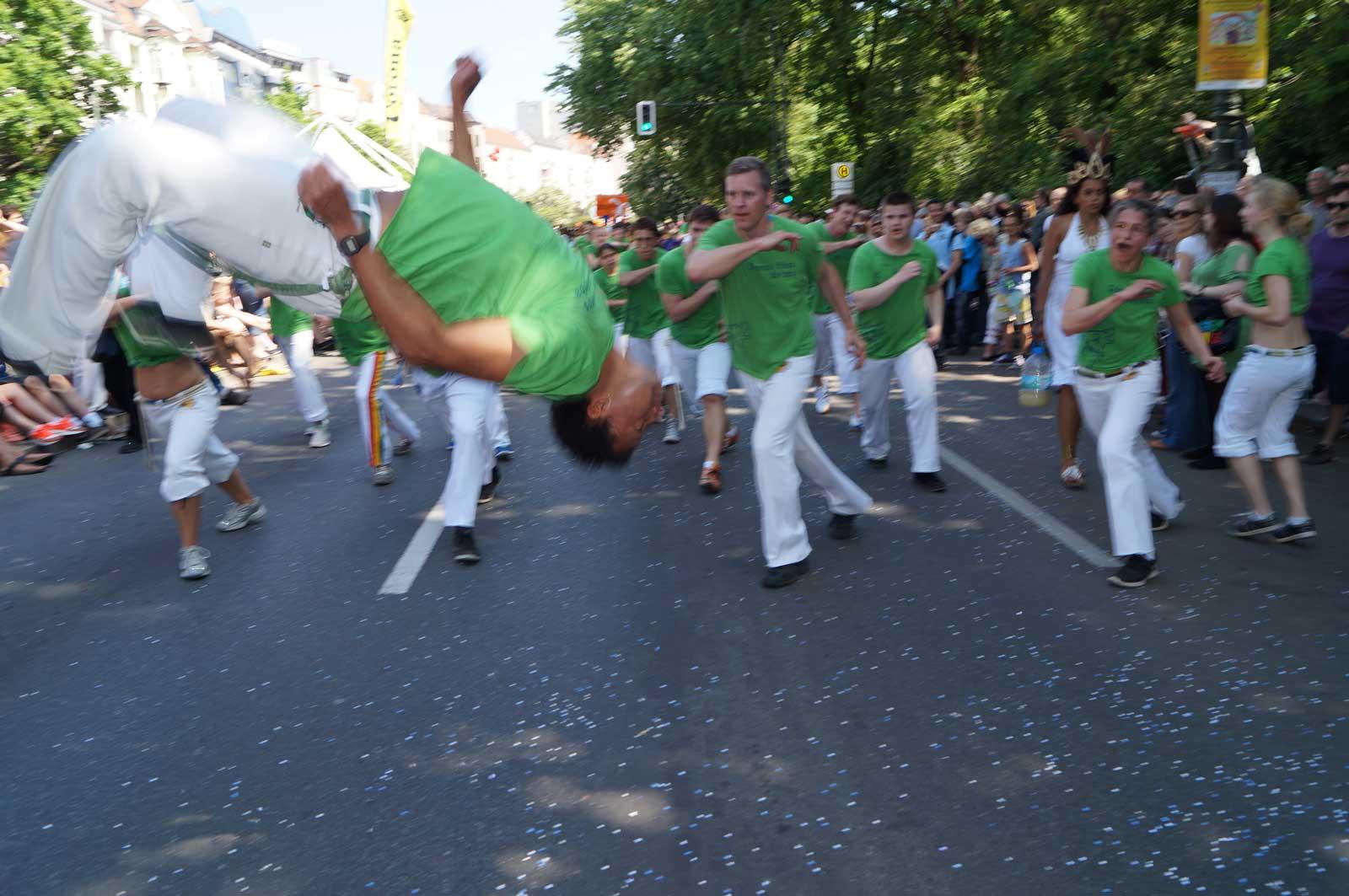 Capoeira Akademie Berlin: Karneval der Kulturen