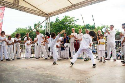 Capoeira Akademie Berlin: Kinderkarneval Bühne