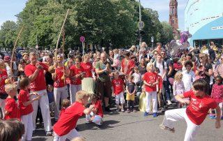 Capoeira Akademie Berlin: Kinderkarneval Spreewaldbad