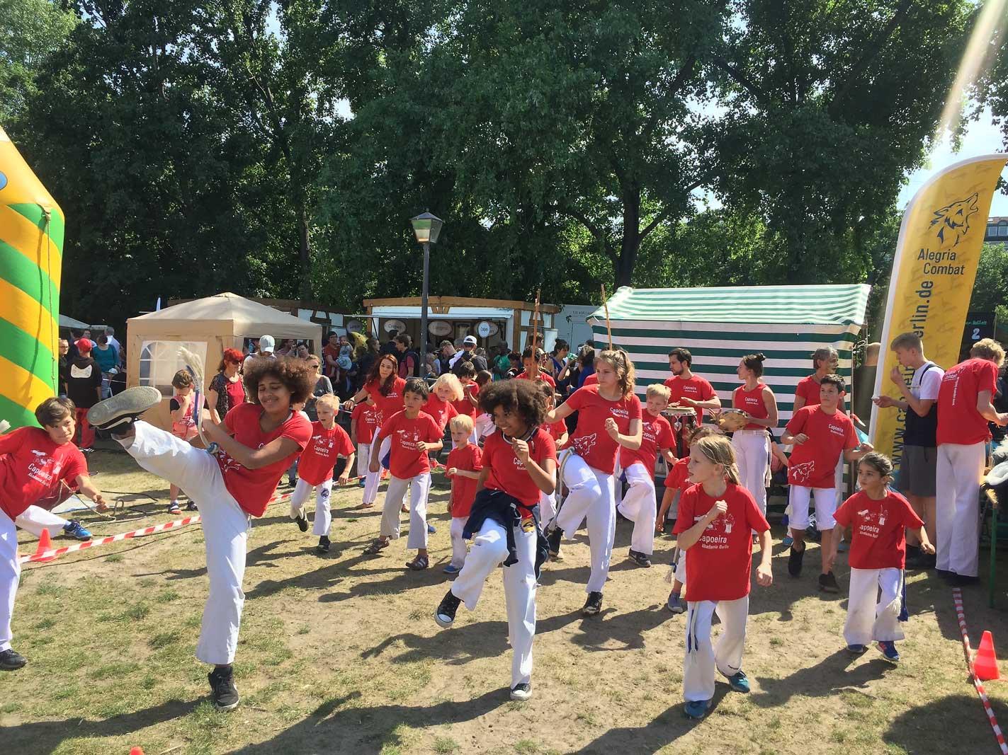 Capoeira Akademie Berlin: Kinderauftritt