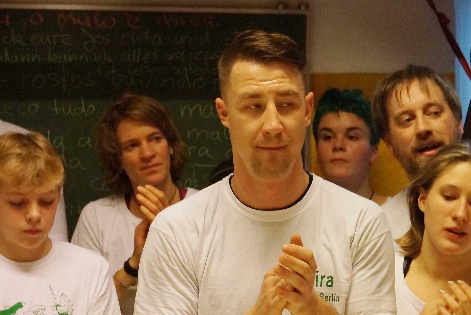 Capoeira Akademie Berlin: Trainer Pereira