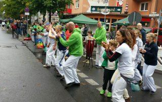 Alegria Combat Capoeira Berlinmarathon