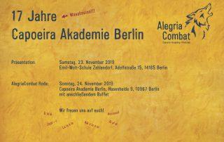 Capoeira Akademie Berlin 14.AC 2019